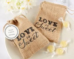 burlap gift bags is sweet burlap favor bags sweet theme favors
