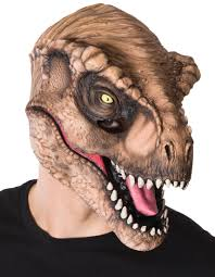 t rex scary mask costume craze