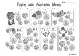 australian money worksheets by littlemisst teachers pay teachers