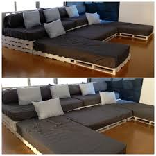 Diy Sofa Bed Pallet Sofa Bed Image Wood Pallet Sofa Inspire U Shaped Wood