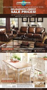 Discount Living Room Furniture Nj by Furniture Deals Johnny Janosik Delaware Maryland Virginia
