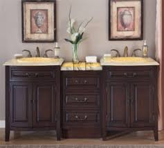 high quality 72 bathroom vanity cabinet with honey onyx top