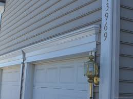 Vinyl Door Trim Exterior How To Install Vinyl Garage Door Trim Wageuzi Converting A Garage
