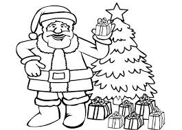 santa claus coloring pages christmas christmas coloring pages of