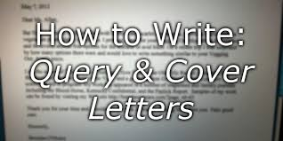 cover letter to literary agent writing your essay