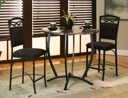 counter dining chairs latitude run jacob 3 piece counter height dining set u0026 reviews