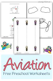 aviation free preschool worksheets free preschool worksheets