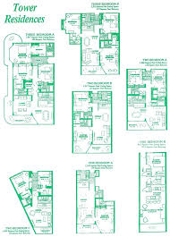 edgewater towers floor plans11 house plan beach resort condos for