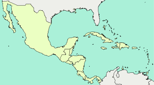 Central America And Caribbean Map by Ca And The Caribbean By Ryan Mccarthy