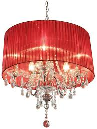 Shaded Crystal Chandelier Crystal Drop Chandelier With Shade By Made With Love Designs Ltd
