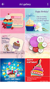 card birthday name on birthday card android apps on play