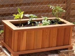 Diy Planter Box by Wood Planter Box Plans Home Design Styles