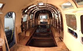 Airstream Trailer Floor Plans 1972 Airstream Camper U2013 Car Hauler Conversion Harper Volkswagen