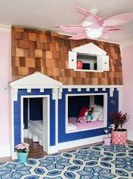 awesome kid u0027s bunk bed playhouse
