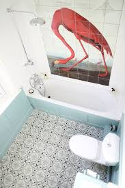Flamingo Bathroom Feeling Flamingo Bloesem