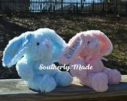 personalized easter bunnies personalized easter etsy