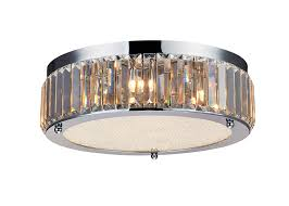 Modern Ceiling Light Fixtures by Saint Mossi Modern Drum Crystal Raindrop Chandelier Lighting Flush