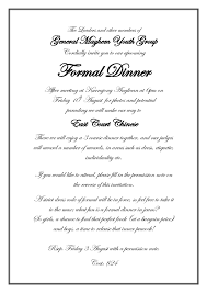 invitation message sles new best s of business dinner