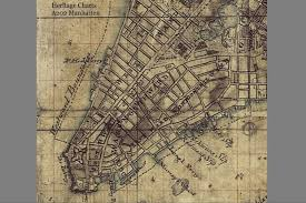 a map nyc map found overseas may offer glimpse of revolutionary era