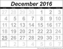 blank december calendar templates 2016 printable word pdf excel jpg