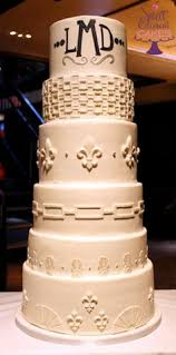 wedding cake ny inspired and loving the initials at the top of the cake ny
