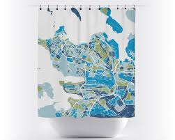 World Map Curtains by Reykjavik Map Shower Curtain Iceland Shower Curtain Chroma