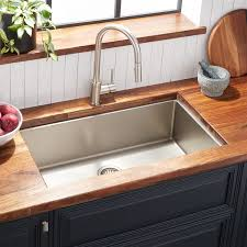 cabinet kitchen sink 32 atlas stainless steel undermount kitchen sink pewter