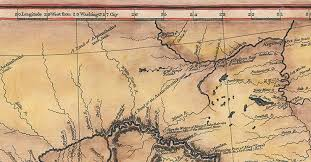 clark map 212 lewis and clark expedition map 1804 1806 great river arts