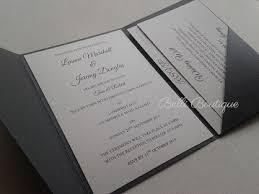 Pocket Invitations Pocket Invitations Belli Boutique Melbourne Wedding Invitations