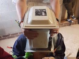 this guy cemented a microwave to his head for a youtube video and