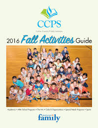 2016 ccps fall activity guide by neapolitan family issuu