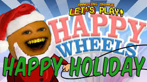 annoying orange happy wheels