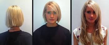 pics pf extentions with short hair hair extensions in short layered hair before and after tape on