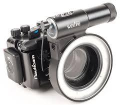 ring light for video camera weefine 3000 ring light strobe for underwater macro 3000 lumen