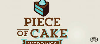 wedding cake logo cake logo of cake weddings graphic designer chris prescott