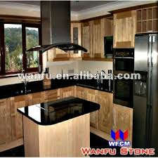 new style black granite indian kitchen interior design buy