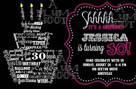 invitation wording for 30th birthday party wedding invitation sample