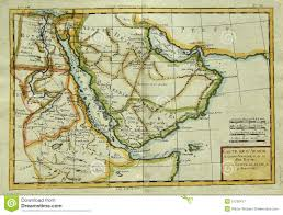 North Africa Middle East Map by Antique Map Of Arabian Peninsula U0026 Eastern Africa Royalty Free