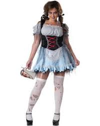 zombie french maid costume fever fancy dress collection
