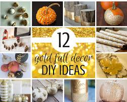 Diy Decorating Blogs 12 Gold Fall Decor Diy Ideas To Try Savvy Sassy Moms