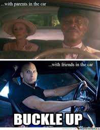 Driving Meme - driving with parents vs friends by boom meme center