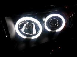 2008 dodge ram 1500 led fog lights ccfl angel eyes halo fog light dodge ram youtube