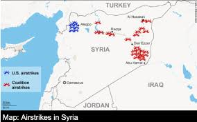 Likely Syrian Missile Targets In Google by Mapping The New Enemy Musings On Maps