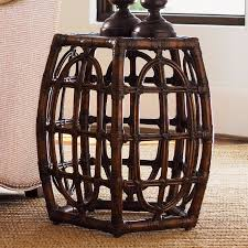 Rattan Accent Table Interesting Rattan Accent Table With Bahama Home