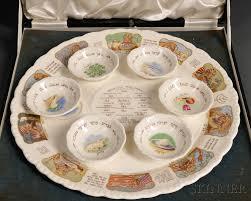 seder set royal cauldon bone china seder set sale number 2675b lot number