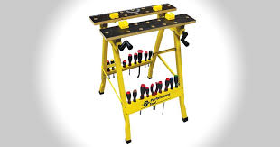 Keter Folding Work Table Bench Mate With 2 Clamps Revealed The Best Portable Workbench With Reviews