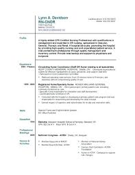 nursing graduate resume template exles of nursing resumes for new graduates