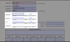 purchase requisition form help