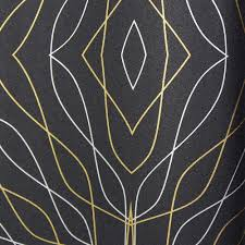 Gray And Gold Black With Silver And Gold Lines Kr457 Wallpaper From The