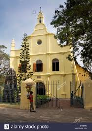 india kerala fort cochin st francis church former dutch